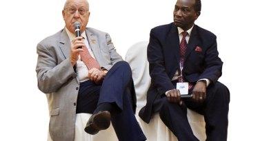 RI President John Germ and RIPN Sam Owori.