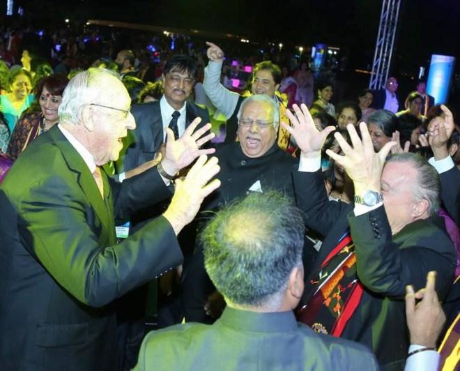RI President John Germ and RID Manoj Desai