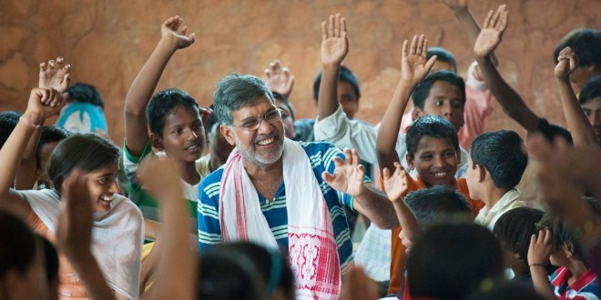 In 2015 Kailash Satyarthi received the World's Children's Honorary Award.