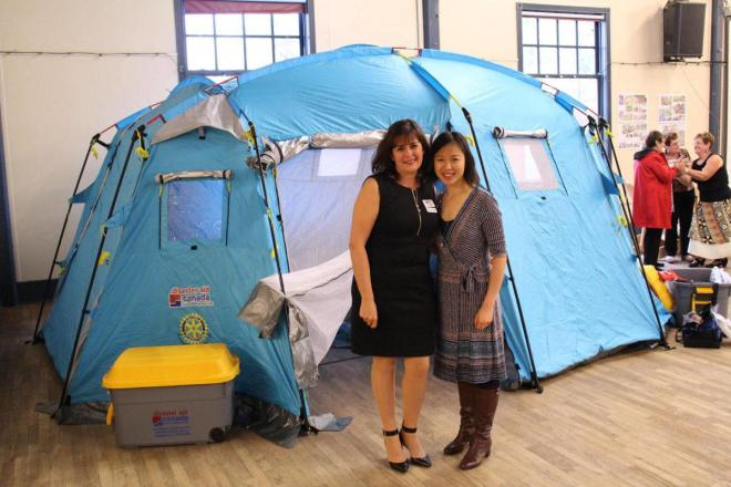Last year's Ladysmith Rotary fundraiser and challenge to other clubs helped raise over $10,000 for Disaster Aid Canada.