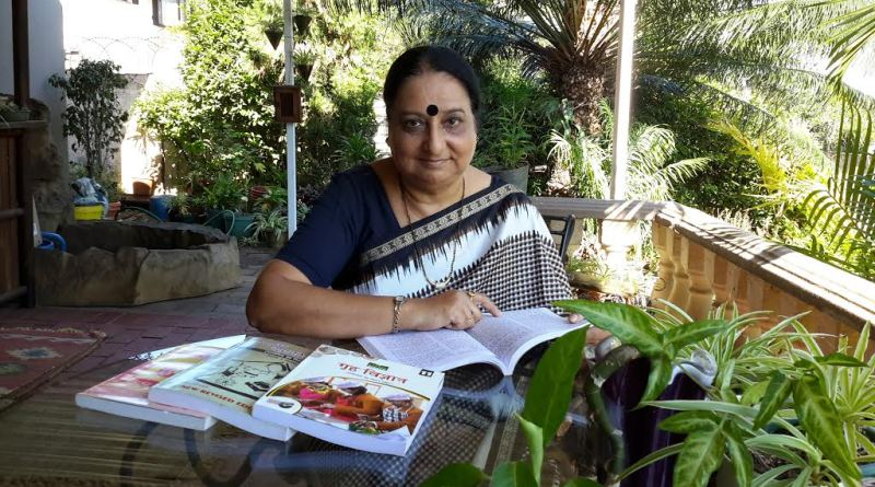 Sarita Sirohi who launched her textbooks recently.