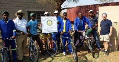Helping local villagers in Mazwi, Zimbabwe, find ways to engage in trade and commerce will be one aspect of the Rotary's aid programme.