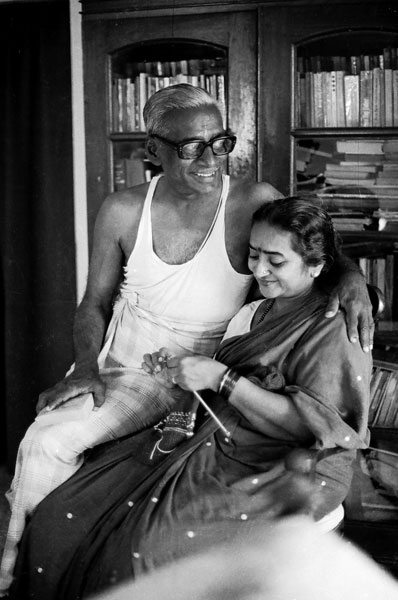 The author's parents Madhav Rao and Manorama.