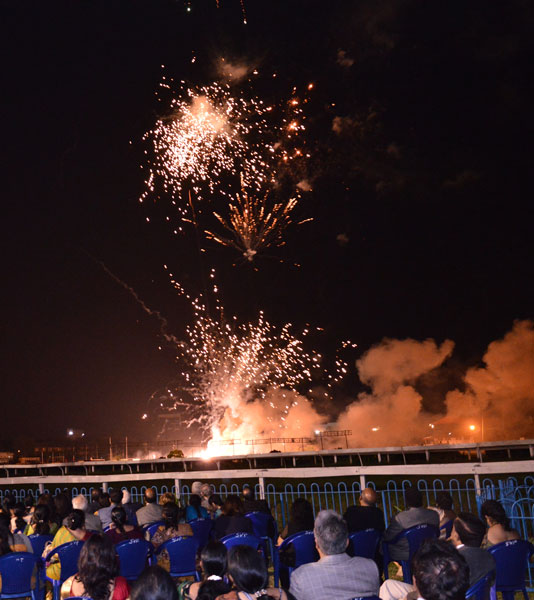 Rotary lights up Chennai sky: Time for fireworks... of a kind different from RIPE Ravindran's straight talk!