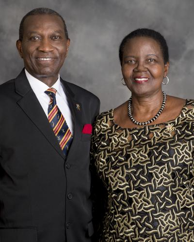 The late Sam Frobisher Owori and his wife Norah Owori. File photo