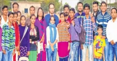 Family members of Seva Sahyog in Indore.
