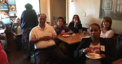 A section of participants at Happy Hour for Charity hosted by Rotary Club of South Orange.
