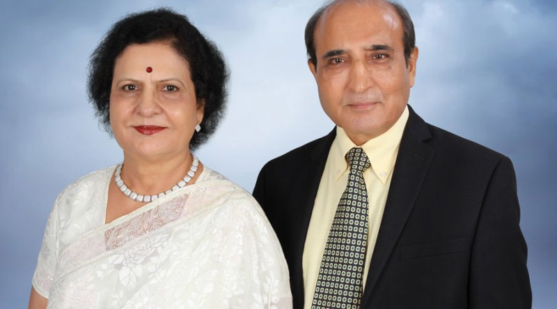 Manju and Kulbhushan Jetly.