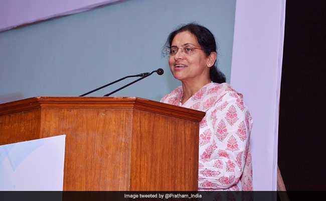Rukmini Banerji is the CEO of Pratham (Photo: NDTV file)