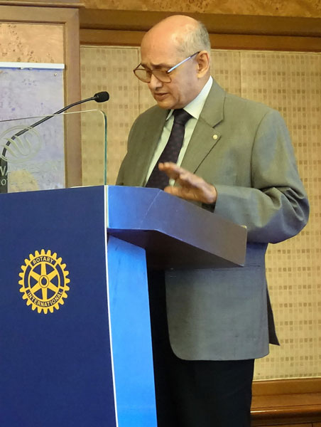 PRIP and past TRF Trustee Chair Kalyan Banerjee.