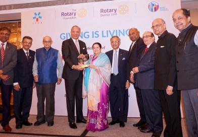 Rotary honours a philanthropist par excellence