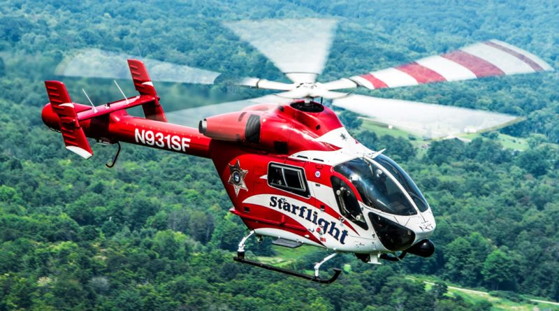 Starflight will be sending one of its life-saving helicopters to the Rotary Fly-In Breakfast on Sunday (July 8) at the Chautauqua County Airport, Dunkirk. Photo: Submitted