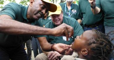 Rotary announces $96.5 mn to end polio
