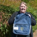 A backpack project offers nutritious food to children