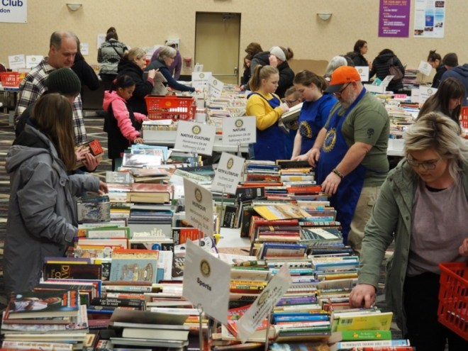Rotary Club of Brandon's Fall Book Sale will take place at the Victoria Inn's Imperial Ballroom. Photo: Submitted
