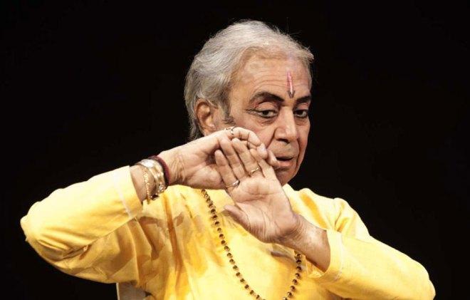 Kathak exponent Pandit Birju Maharaj.
