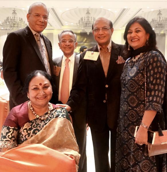 Vanathy, PRIPs K R Ravindran, Rajendra Saboo, RIDE Kamal Sanghvi and Sonal Sanghvi.