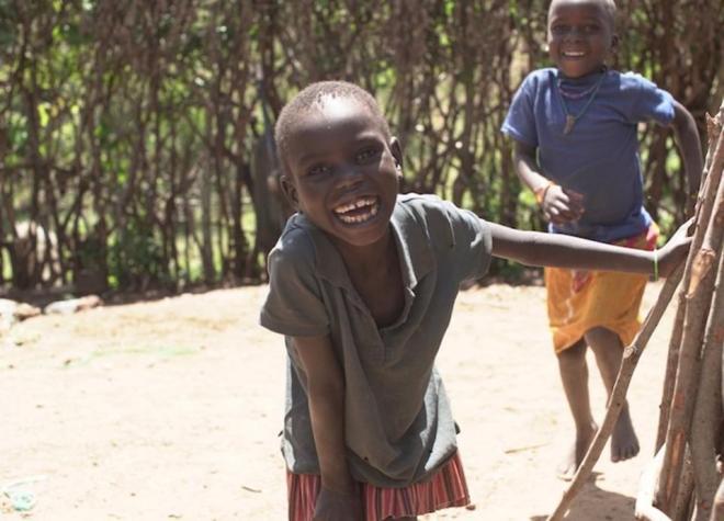 Rotary International volunteers travelled to a remote region of northeastern Uganda to vaccinate children against polio.