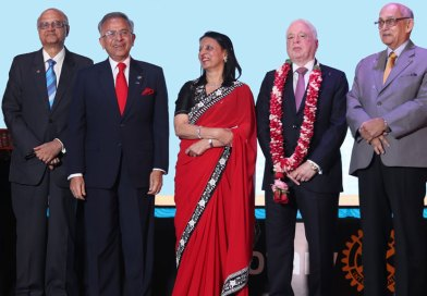 Three past presidents felicitate RIPN Gupta