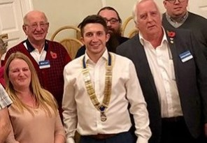 A club elects youngest ever president