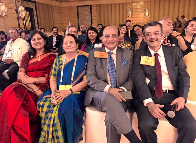 RIDEs Bharat Pandya and Kamal Sanghvi with Madhavi Pandya and Sonal Sanghvi.