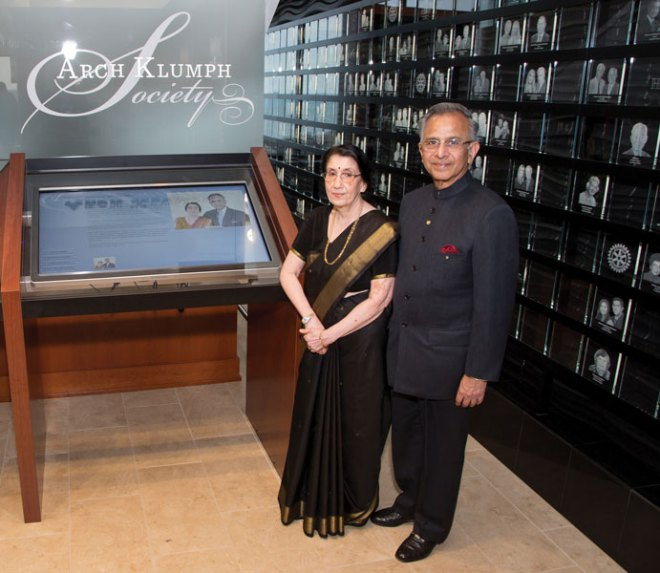 In 2015, PRIP Saboo and his wife Usha were inducted into the Arch Klumph Society.