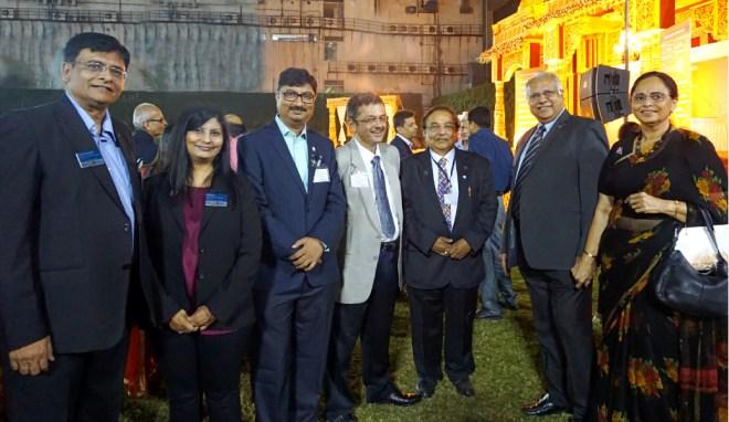 (From L) Sumul Patel, DG Pinky Patel, PDG Ruchir Jani, RIDE Bharat Pandya, PDG Nilax Mufti, PRID Manoj Desai and Sharmishtha.