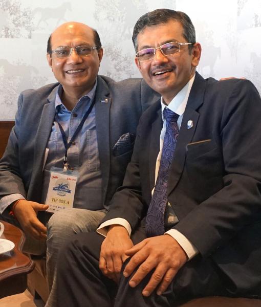 RIDEs Kamal Sanghvi and Bharat Pandya.