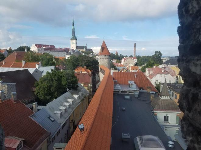A Prior Lake Rotary Club-sponsored trip this summer will travel to several eastern European countries, including a stop at Tallinn, Estonia, seen here in a snapshot taken in late 2017. The trip is open to non-Rotary members. Photo: Rick Olson