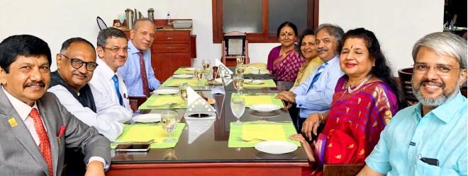 PDGs E K Sagadhevan, Sunil Zacharia, RIDE Bharat Pandya, PRIP K R Ravindran, Vanathy, Sangita, RIPR Vinod Bansal, PDGs Rekha Shetty and P M Sivashankaran.