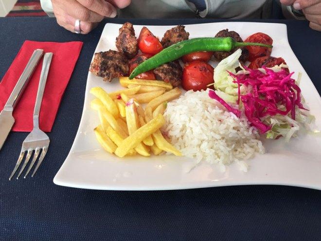 kebab-with-rice