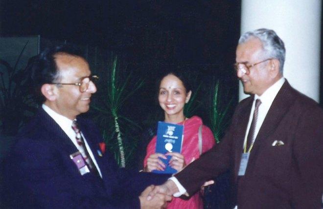 SL Chitale with PRIP Rajendra Saboo.