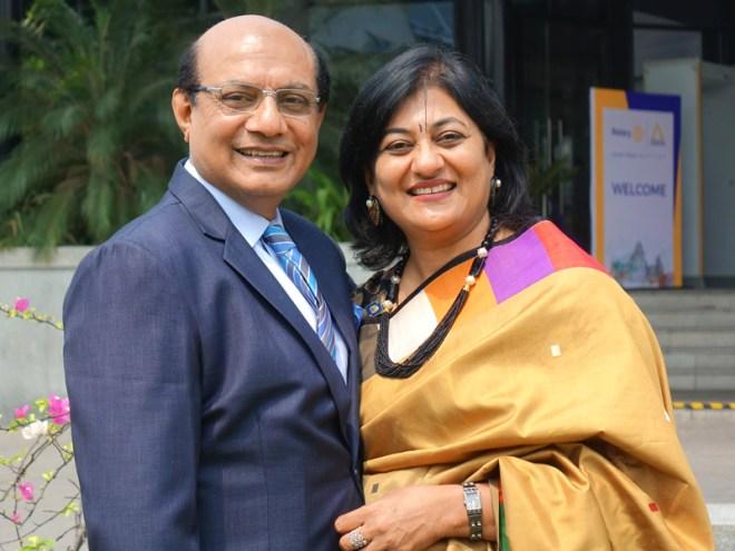 RIDE Kamal Sanghvi and Sonal.