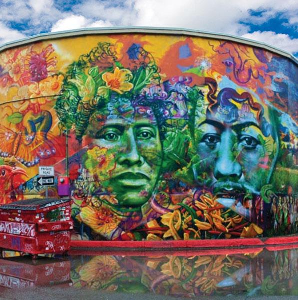 A Kaka'ako mural.
