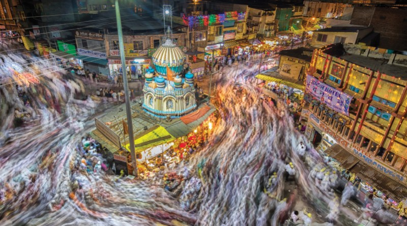 This photo won the Annual Photo Contest conducted by The Rotarian. It depicts the flow of humanity during the Pandharpur Wari pilgrimage.  Picture by Santosh Kale, Rotary Club of Shirol, RID 3170.