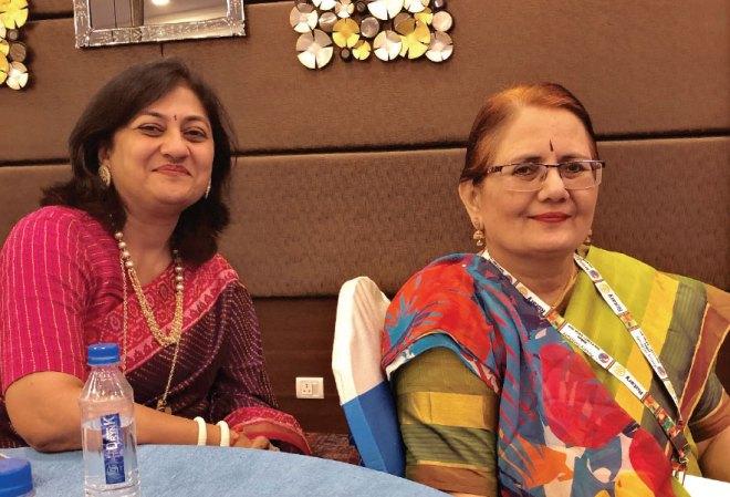 Sonal Sanghvi and Madhavi Pandya.