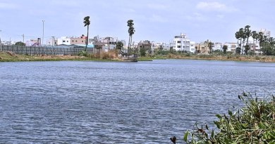 Puducherry Lake after restoration.