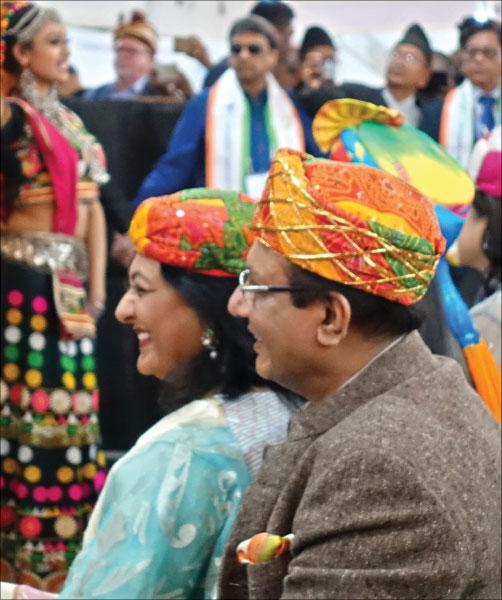 RID Kamal Sanghvi and Sonal.