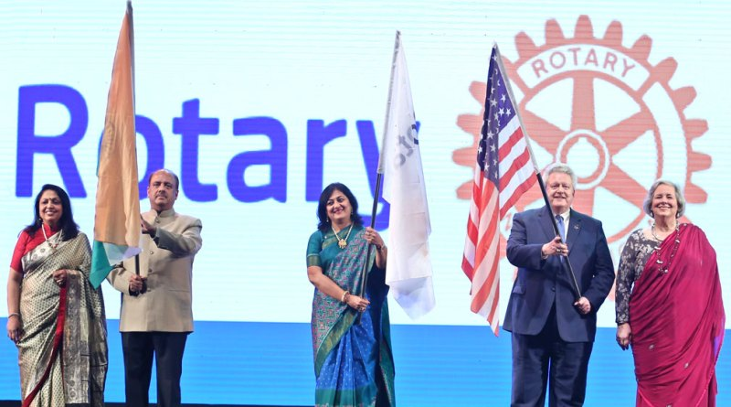 Rotary India celebrates centennial with service projects  worth $300 million
