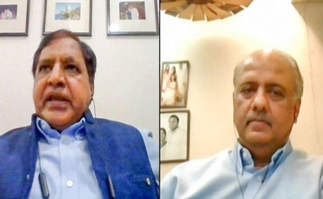 RISM Chair Ramesh Aggarwal and RIPN Shekhar Mehta.