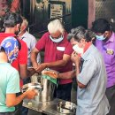 RC Madras Marina feeds  migrants at shelter camps