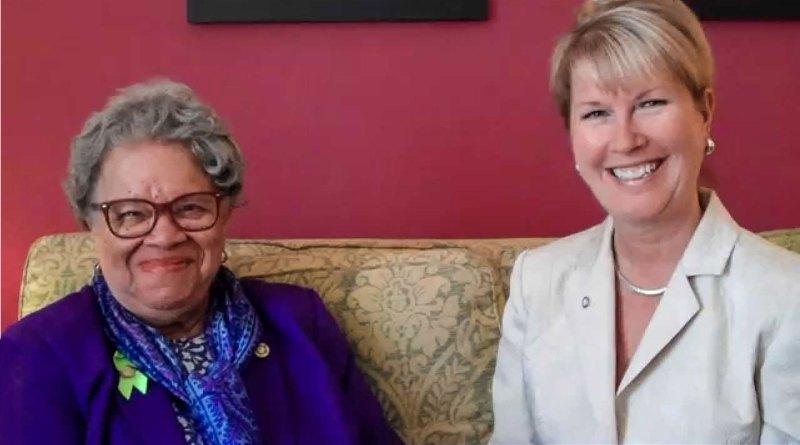 PDG Sylvia Whitlock and RIPN Jennifer Jones.
