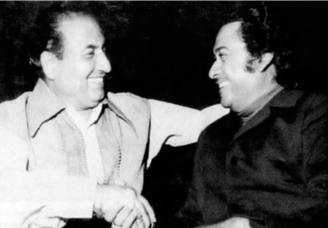 with Kishore Kumar.