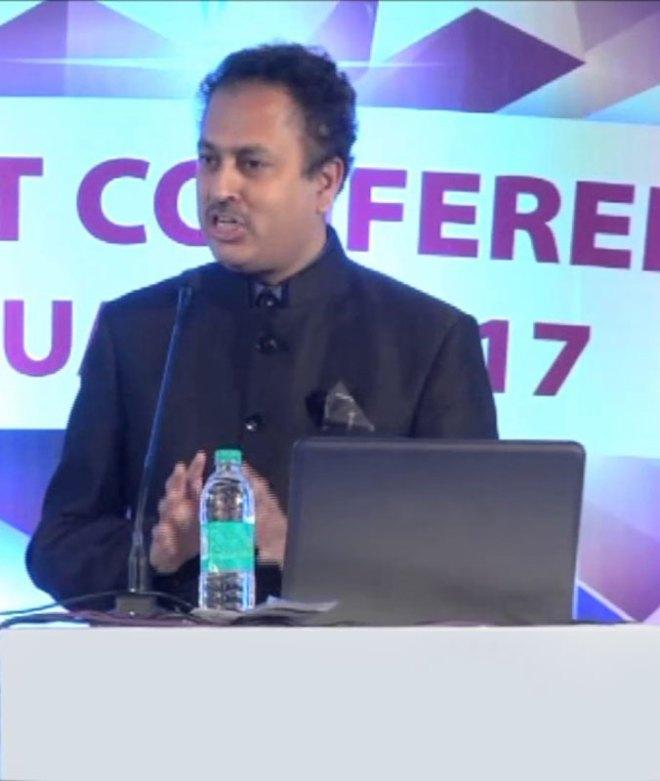 GETS and GNTS chair RIDE Mahesh Kotbagi
