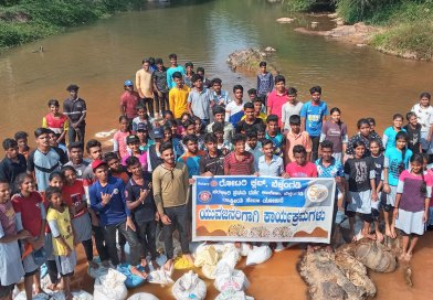 Sustainable water conservation projects by RC Belthangady, RID 3181
