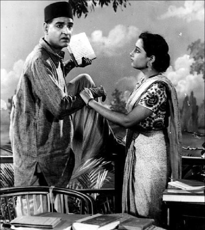 KL Saigal in the film My sister.