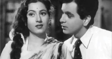 Dilip Kumar and Madhubala.
