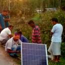 Solar lights keep elephants away in Assam villages