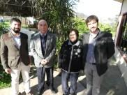 Emilio Becker, Jorge Fontanes, Beatriz Zahr y Juan Carlos Puiggros