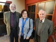 Noel Fontanes, GD Sonia Garay y Joaquin Larrain